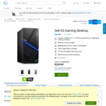 Dell G5 Gaming Desktop with Intel 10700F CPU, RTX 3060 Ti, 16GB RAM, 1TB SSD $1,882.32 Delivered @ Dell
