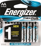 Energizer Max Plus Advanced AA / AAA 6 Pack Battery $4.75ea + Delivery ($0 C&C/ in-Store) @ Bunnings