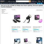 [Prime] Philips Hue LightStrip Plus $99  Hue Play Extension $69  Hue Play 2 Pack $159  Sync Box $343 @ Amazon AU via UK/US