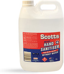 5L Hand Sanitiser $9, Reusable Mask $4.50 + More + $10 Shipping ($0 with $15 Order) @ Healthcare Xpress