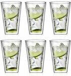 Set of 6 Bodum Canteen Large Double Wall Glasses (400ml) $57.95 + $13 Delivery ($0 with $60 Order) @ Bodum