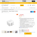 SwitchBot Bot Smart Button Pusher $34-$44 Each Delivered @ Smart Guys