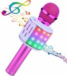 Bluetooth Karaoke Wireless Microphone with LED Lights $9.99 + Delivery ($0 with Prime/ $39 Spend) @ Arcade Mall via Amazon AU