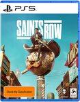 [Pre Order, PS5, XSX] Saints Row Day One $78 Delivered @ Amazon AU