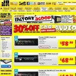 30% off Car Audio at JB Hi-Fi
