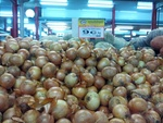 Brown Onions @ 9c/kg over in Spudshed (WA) until May 1st