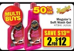 Meguiar's Soft Wash Gel - 473ml Two for $12 (50% off) @ Repco Starts 27 Feb