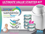 Sangenic Hygiene Plus+ Ultimate Value Started Kit with 6 Refill $46.55 @ OO.com.au