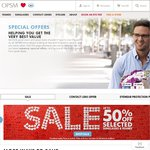 $25 off $99 Spent on Contact Lenses at OPSM + Free Delivery