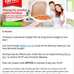 EatNow - $5 off Orders This Weekend Via iPhone App