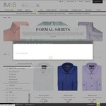 Marks & Spencer Formal Shirt Sale Starts from £3.99. Free Shipping over £30