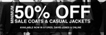Jack London 50% off RRP Coats and Casual Jackets (Free Shipping if Order >= $100)