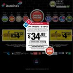 Domino's Value Range Pizza $3.95 Pick up - Only Some Stores
