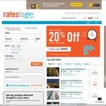 20% off Hotel Accommodation @ RatesToGo