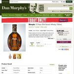 Dimple 12 Year Old Scotch Whisky 700mL $39.00 - Dan Murphy's