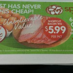 30 Eggs for $2.99 Per Tray and 1kg Shortcut Bacon for $5.99 at Spudshed (WA Only)