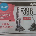 Dyson DC29 or DC33 $398 from Big W