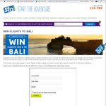 Win Return Flights for 2 to Bali from STA Travel