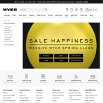 Myer Spring Clean Sale - Clothing, Footwear, Homeware & More
