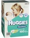 Huggies @ Baby Bunting - 160 Newborn $39.99 | 144 Infant $39.99 | 384 Baby Wipes $15.95