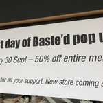 50% off Everything at Basted, Sydney NSW - Today Only