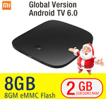 Xiaomi Mi TV Box 3 [Global Version] 4K/BT/Wi-Fi/Android 6 US $69.99 (~AU $97.94) Delivered @ AliExpress