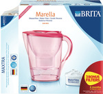 Brita Marella Red Jug and 3+1 Filters for $34.95 @ The Good Guys
