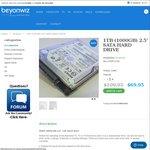 """Hitachi HGST 2.5"""" 1TB 5400RPM SATA Hard Drive $69.95 + $9 Shipping @ Beyonwiz"""