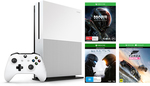 Xbox One S 500GB Console w/ Mass Effect Andromeda, Forza Horizon 3, Halo 5 $299 save $100 @ BigW