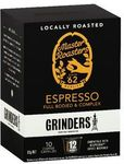 Grinders Espresso Capsules 5.2g 10 Pack $3 @ Officeworks (Adelaide St Brisbane)
