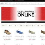 Rockport Shoes Australia EOFY Sale Upto 60% off Selected Styles (Free Delivery for Orders over $150)