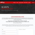 UFC Gym $20 for 10 Classes [Sydney]