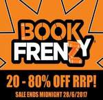QBD (ONLINE Only) EOFY Book Frenzy Sale 20-80% off RRP. Free Shipping