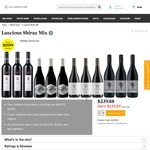26 Wines @ Cellarmasters eg. 63% off Halliday Luscious Shiraz Mix 12pk $139.88 ($11.66/bt) + $1.20 Handling + Free Delivery