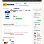 Verbatim Slider 2.0 USB 16GB Black $5.50ea (Limited 5 Per Customer) + $7.95 delivery @ 123inkjets