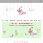 Bunny Ears Spring Sale: 20% Everything on Girls and Ladies Hair Accessories