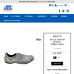ASICS Hyper Sprint DOWN to $9.95 ($90 off) + $15 Shipping @ Jim Kidd Sports