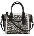 COACH COACH SWAGGER 21 IN SNAKE $125 (RRP$975) Delivered @ David Jones