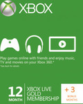 15 Month Xbox Live Gold Membership Digital Delivery - $62.40 @ CD Keys (with FB 5% Discount)