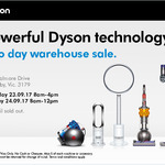 Dyson warehouse sale eg V6 car and boat $299 (RRP $449) [Scoresby, VIC]