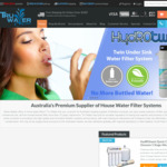 Tru Water Filters - 20% off Water Filters for Fridge/House/Coffee Machine over Long Weekend