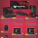 Acer Gaming Products Selected Products 20% off @ Harvey Norman