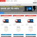 Lenovo Flash Sale - up to 40% off Select Laptops: E470 ($795), ThinkPad E570 ($1,149), E570p ($1,599), X1 Carbon, T470, T470s