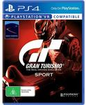 Gran Turismo Sport (PS4) + Limited Edition GT Sport Wireless Controller - $119 @ JB Hi-Fi from 18/10/17