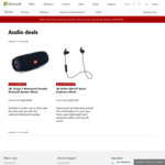 Microsoft Store: JBL Charge 3 - $149 Plus Free Delivery