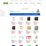 [NSW] 30% OFF 100 Products at IKEA Tempe, NSW. In-store only. Chest of drawers, Tables & More
