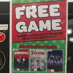 [PC] Free Game (Choose from 3) with Any PC Accessory Purchase over $47 @ EB Games