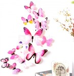 12PCS 3D Butterfly Wall Sticker Decals Wall Decor - Random Color US $0.20 (~AU $0.27) @ Zapals