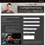 [NSW] Complimentary / Free Premium Haircut @ Detail for Men Sydney CBD