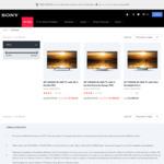 Sony 4K TV Sale | KD49X8000E $899 | KD49X9000E $1198 | KD55X9300E $1798 | Delivered @ Sony